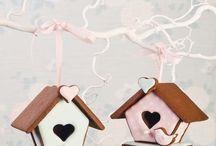Vogel huis koekjes