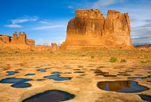 Arches National Park / The world's largest concentration of natural sandstone arches.