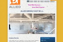 Allied Middle East | A Web Project / A Wordpress Web Project designed by Urbansoft