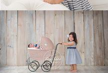 Newborn photos with baby #2