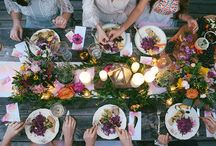 Boho Luxe Styling / Hosting your friends and family for a boho dinner party? Take inspiration from here!