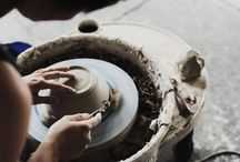 Ceramics / In another life, I want to work with clay. I love a good vase and mug.