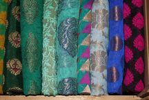 Indian Silks - splendid and elegant / Chanderi Silk, Brocaded Silk, Semi-Silks, Ikat Silk