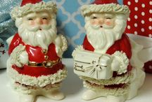 Christmas Kitsch / Vintage Kitsch style Christmas gifts, decor and decorating ideas.