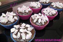 Mis cupcakes / by Cocinando Con Malú