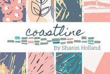 Coastline Fabrics / Coastline fabric collection by Sharon Holland for Art Gallery Fabrics / by Sharon Holland Designs