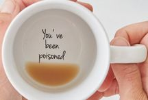 cups with cute messages