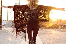 All Day I Dream of Kimonos and Scarves / Shopping around to find myself the perfect lace kimono for summer.