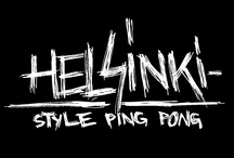 /// Helsinki-Style Ping Pong /// / I'm addicted to ping pong so I made a DIY solution for all you likewise fanatics out there. Spread the word how to turn a street corner into arena of urban ping pong.
