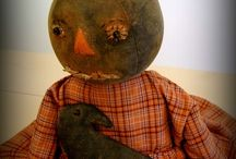 Love them punkin heads and scarecrows /  everything for Fall and Halloween . / by Nancy Sallee