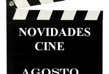 CINE AGOSTO 2015 / Novidades CINE na Biblioteca Anxel Casal Agosto 2015