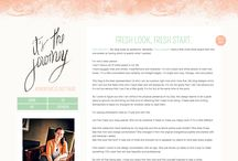 Blog design / by Kylie M-W