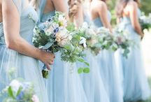 Wedding colours- baby blue / A soft blue perfect for baby boys...but we think even better for weddings! A beautiful delicate colour which works perfectly alongside white, ivory or even gold metallics, so versatile and flattering, baby blue is so easy to incorporate.
