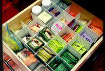 Organization Ideas / by Addie Hanebury
