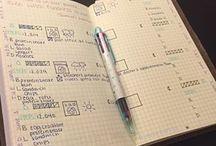 Bullet journal / Bullet journaling ideas!