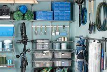 garasje/bod sorteringssystem