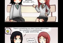 Hilarious Harry Potter Comic Strips / We at Witch Weekly Podcast absolutely love Harry Potter Comics strips.  Mel - I think they are some of most creative fan arts around. They are hilarious but can also be really insightful about the world of Harry Potter, in particular the characters.
