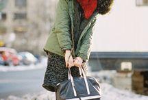 Fashion | street style - colder days