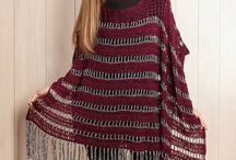 poncho of cape of omslagdoek