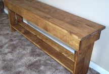 Benches I can build