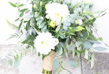 Lush Greenery Wedding flowers
