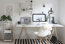 Home office & crafts space