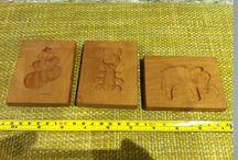 Holz Objekte & Figuren