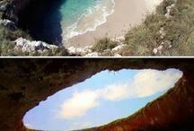 Hidden beaches in brazil