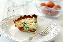 Recetas - Tartas Saladas & Quiches / Variedad de masa y Rellenos siempre salados.
