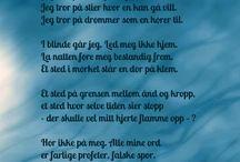 norske dikt