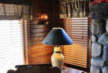 Cabin Decor / Decorating a cabin, cabin and lodge themed decor.