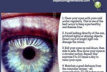 Eyes and health / Eye, eyecare, health and glasses