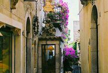 Romantikus kertek - Házak / Régi hangulatos utcák, házak kertek