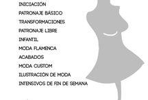 FASHION WORKSHOP Sevilla / Cursos de patronaje y confección creativos en  Sevilla.