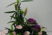 compositions florales simples