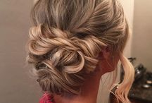 Formal hairstyles & makeup