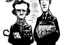 E. A. Poe&H. P. Lovecraft