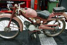 Restauro MotoGuzzi Motoleggera 65 1953