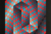 graphic arts / Colourful graphic patterns, designs and illustrations.