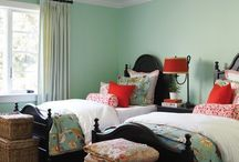 Twin Beds For the Guests