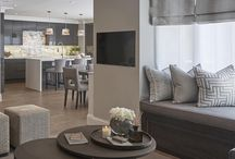 openplan kitchen/living area