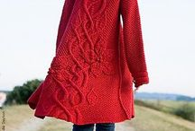 knitted coat / by Wen