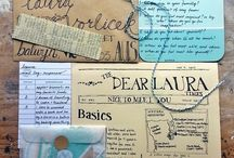 Lettering - Letters - Mail