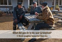 What did you do in the war Grandad? short film / Photos from my first short film that I wrote, produced and edited.