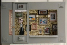 Miniature - Scenarios / Shoppes & Room Boxes, Scenes / by Kundry