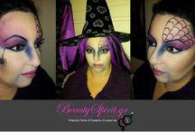 Carnival Makeup by BeautySpirit.gr / Αποκριάτικα μακιγιάζ από την ομάδα του BeautySpirit.gr