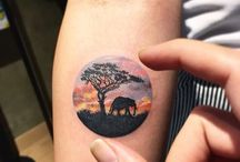giraffe tattoo ideas