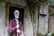 sokak sanatı-banksy/graffities