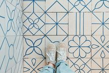 Showcase those Shoes! / We love tile, and the shoes that walk all over it!