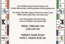 Board Game Parties
